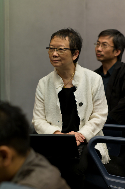 Chan in hong kong university in 2011.