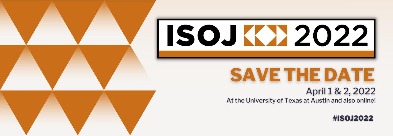 ISOJ Save the Date Website Header