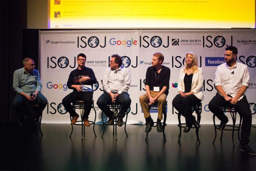 News Startups panel (2017)