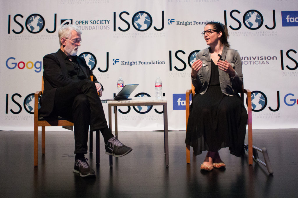 Jeff Jarvis and Melissa Bell (2017)