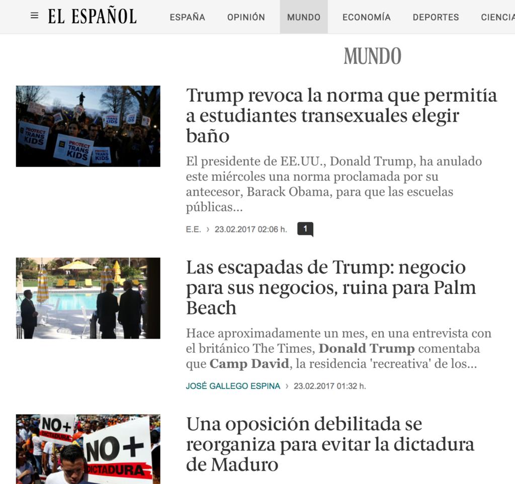 El Espanol Page