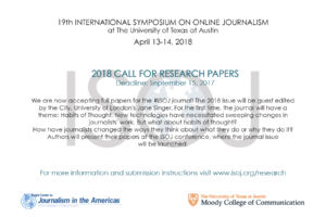 2018 call for research paper