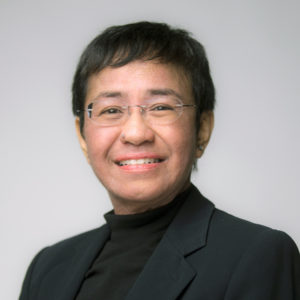 Founder and CEO Rappler, Philippines